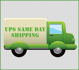 Same day shipping truck